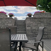 Retaining Wall-Wernimont Residence